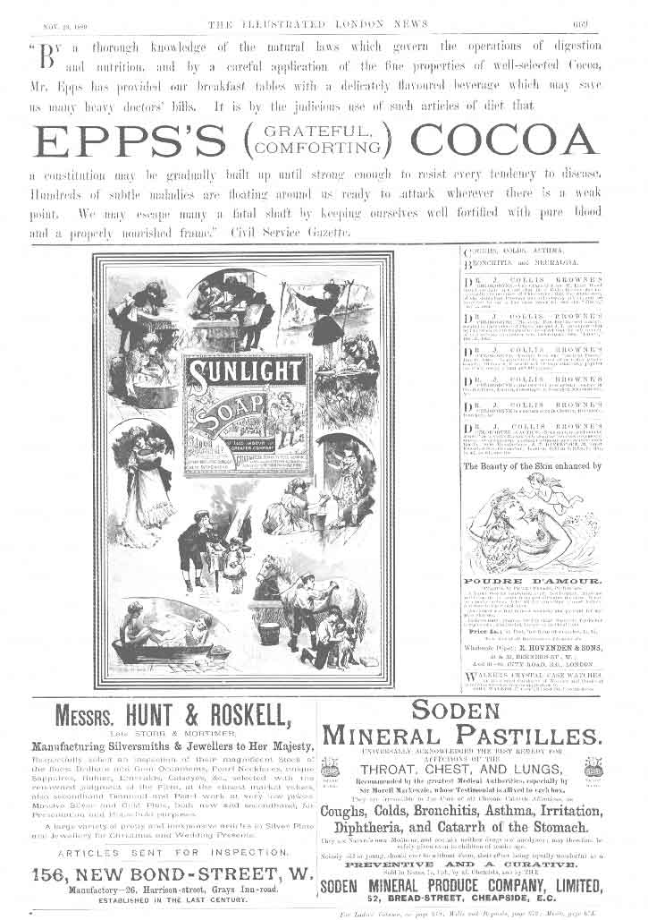 [Print 4 Page Cocoa Soap Rugs Salt 669A176 Old Original]