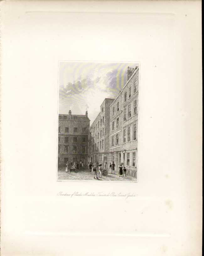 [Print Smith Literary Historical Manuscripts Letter *63 Taverstock Row C 506Aa306 Old Original]