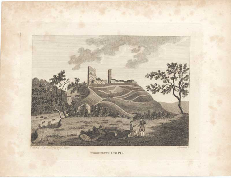 [Print Woodhouse Lie Antiquities Scotland 1790 7900A3A2 Old Original]
