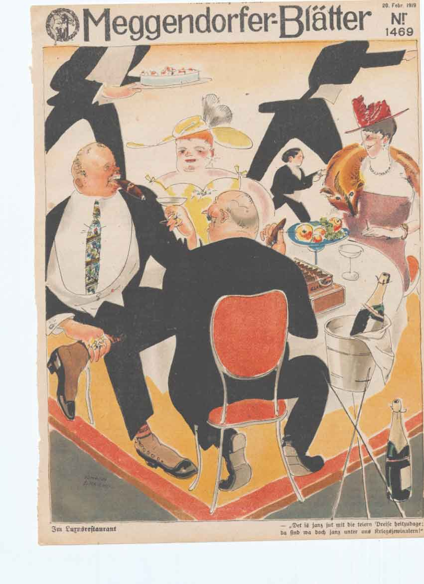 [Print Art Deco Humour The Success After The War 191 0A3Aa340 Old Original]