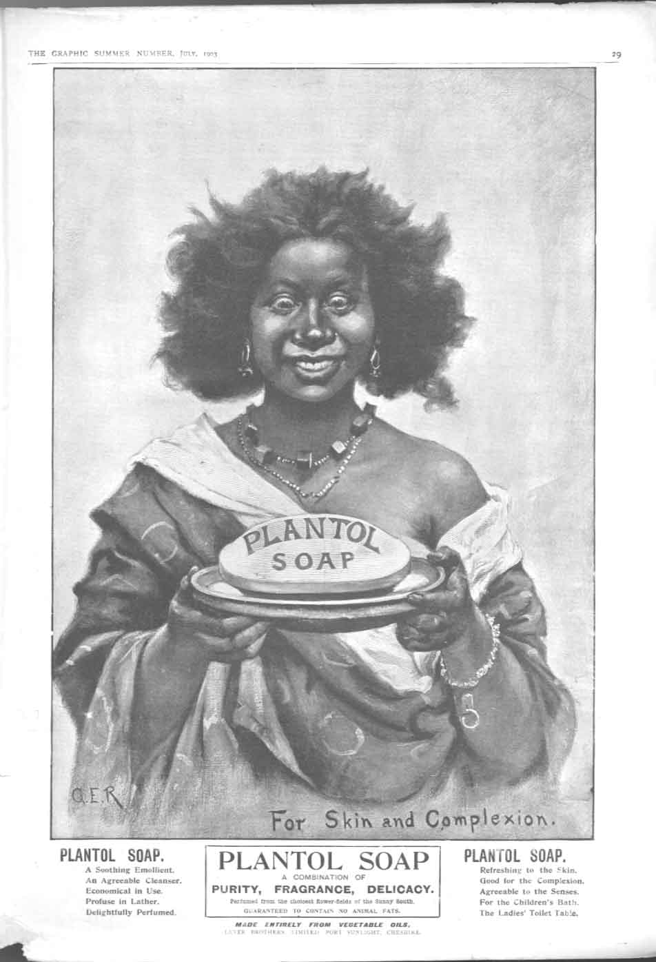 [Print Plantol Soap For Skin & Complexion Lever Bros Advert 30A2A416 Old Original]