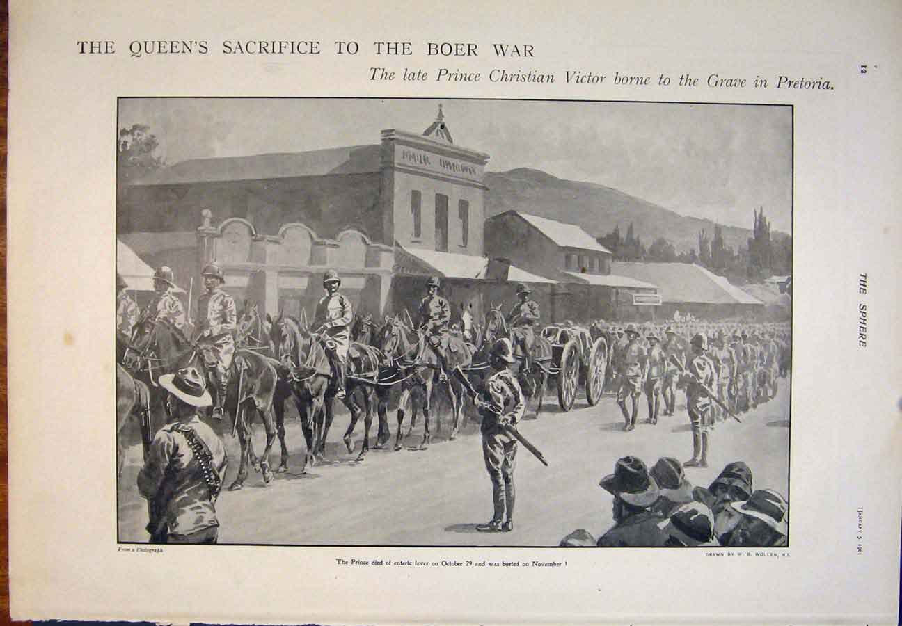 [Print Bovril Advert War Picture Ladysmith Africa Bacon 1901 155400 Old Original]