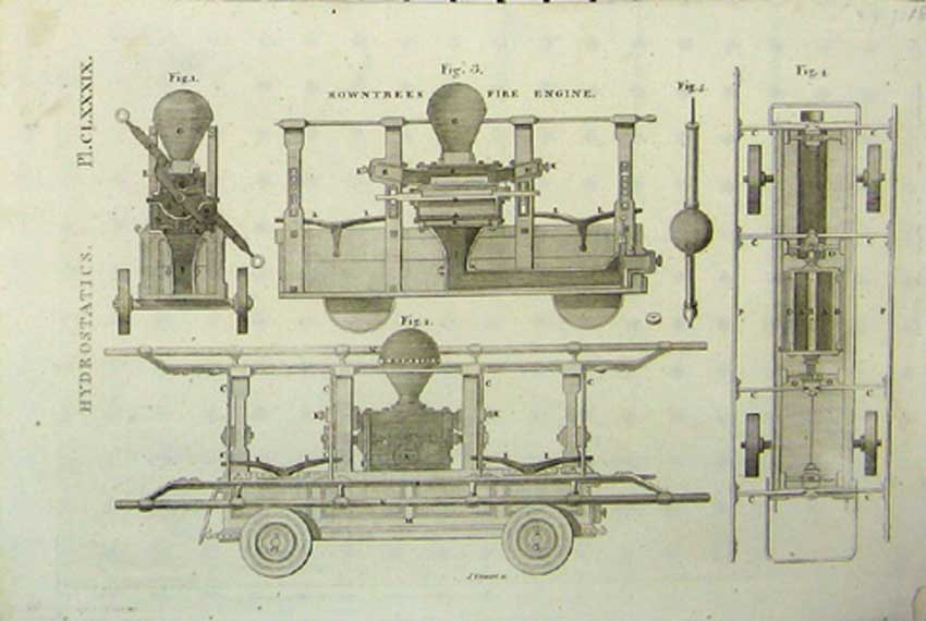 Print C1807 Hydrostatics Machine Design Parts 296111 Old Original