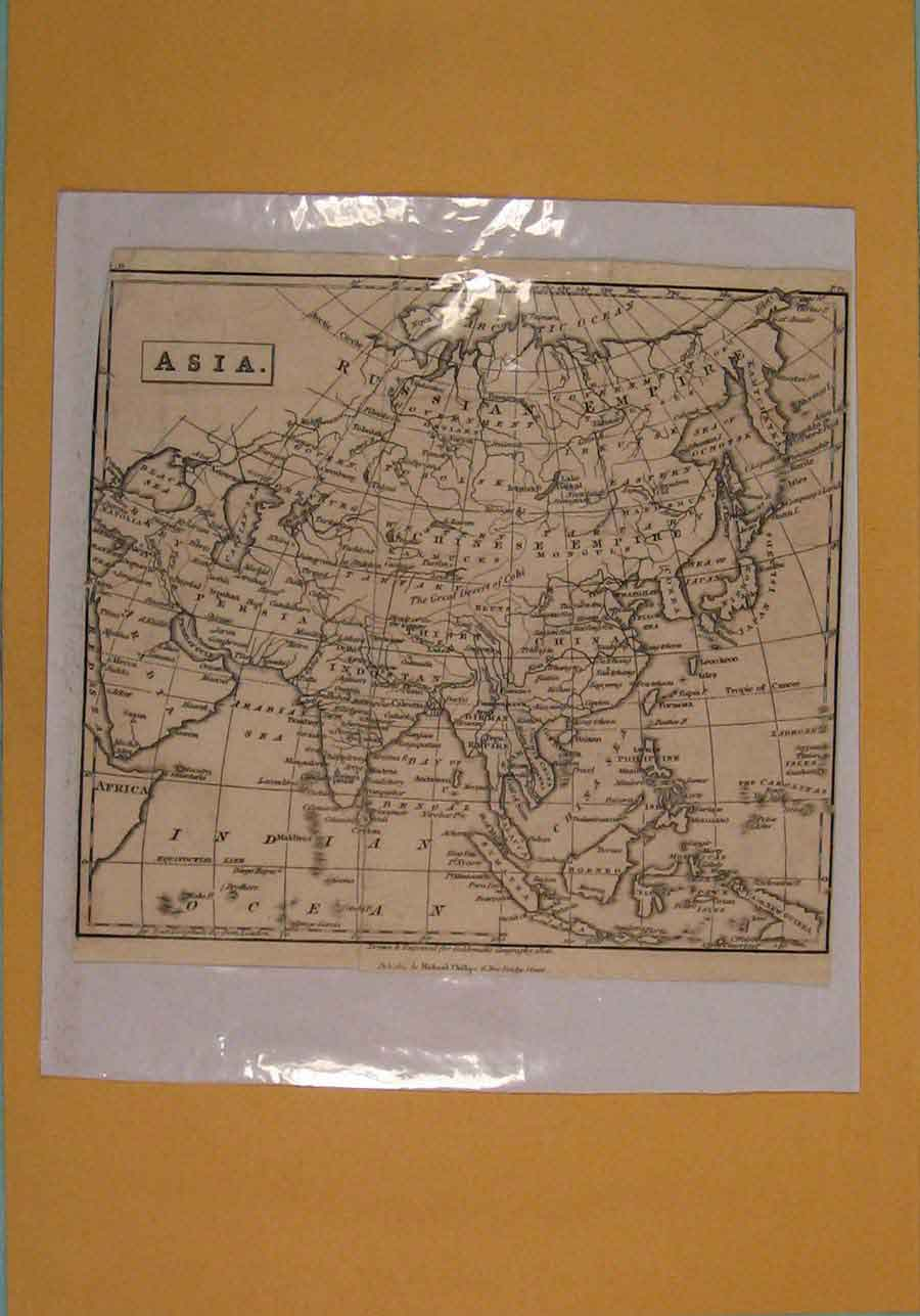 Print Asia Geographical Geographical C1808 196181 Old Original