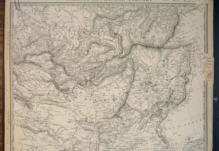 Print France 1831 Lyon Geographical Map Maps 466181 Old Original