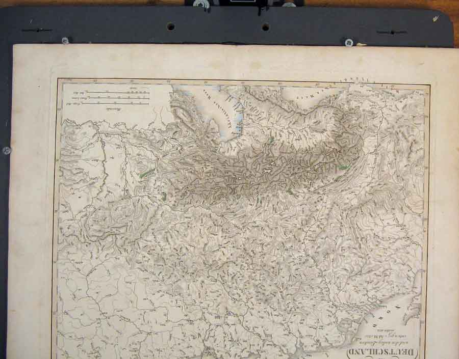Print Dutch Denmark Geographical Map Maps C1820 816181 Old Original