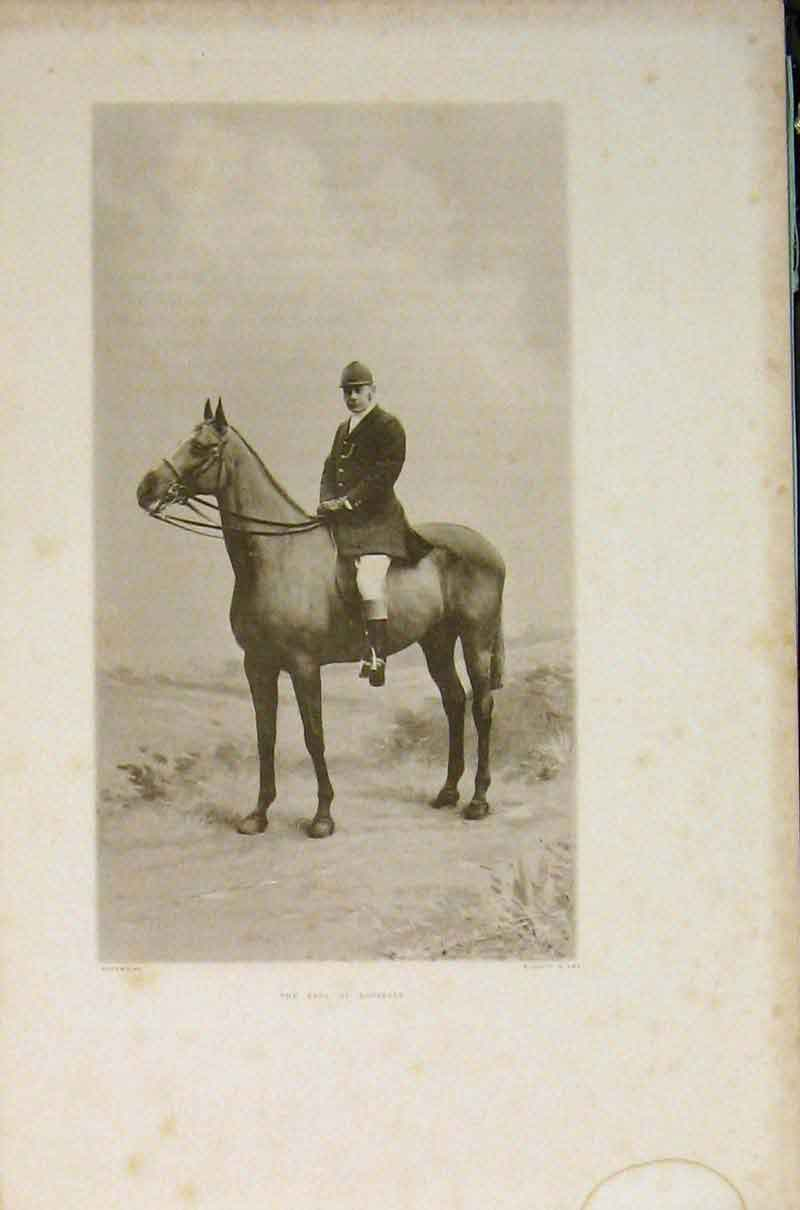 Print Earl Lonsdale Portrait Sport Hunting Editorial C1904 236391 Old Original