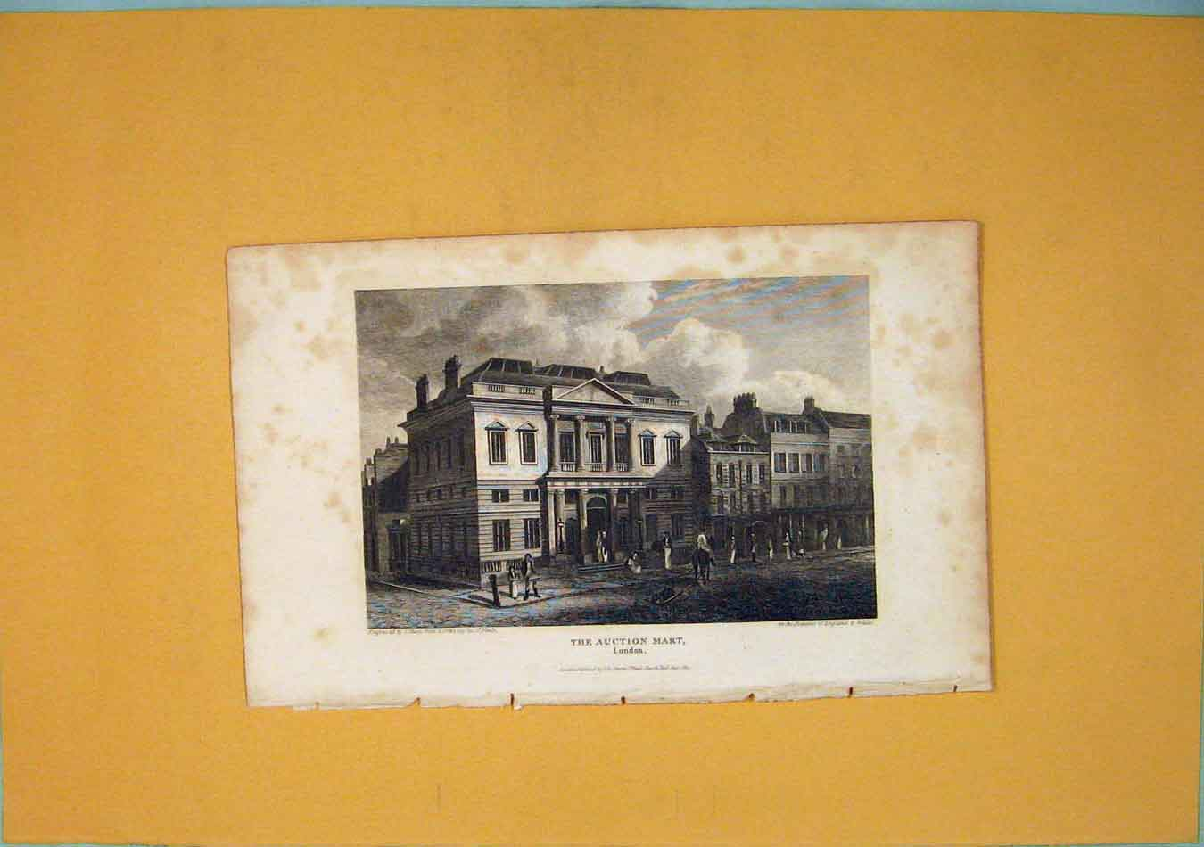 [Print Auction Mart London Fine Art C1831 726451 Old Original]