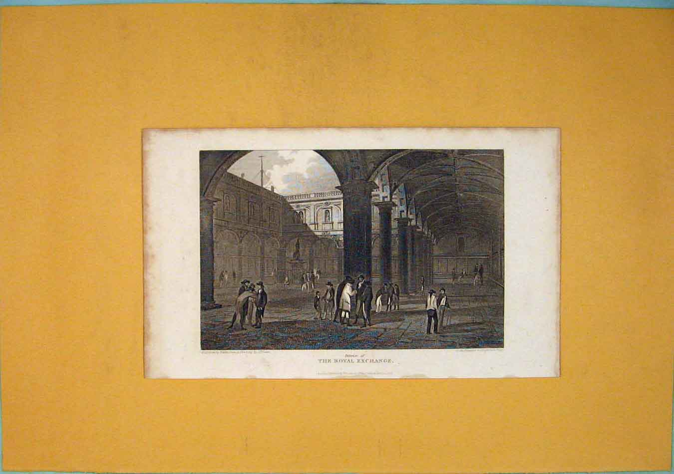 Print View Westminster Abbey Fine Art Altar 306451 Old Original