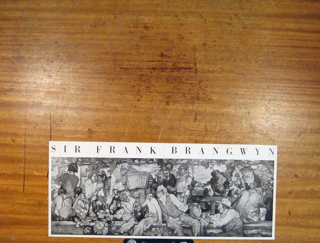 Print Sir Frank Brangyn Fine Art C1930 396791 Old Original