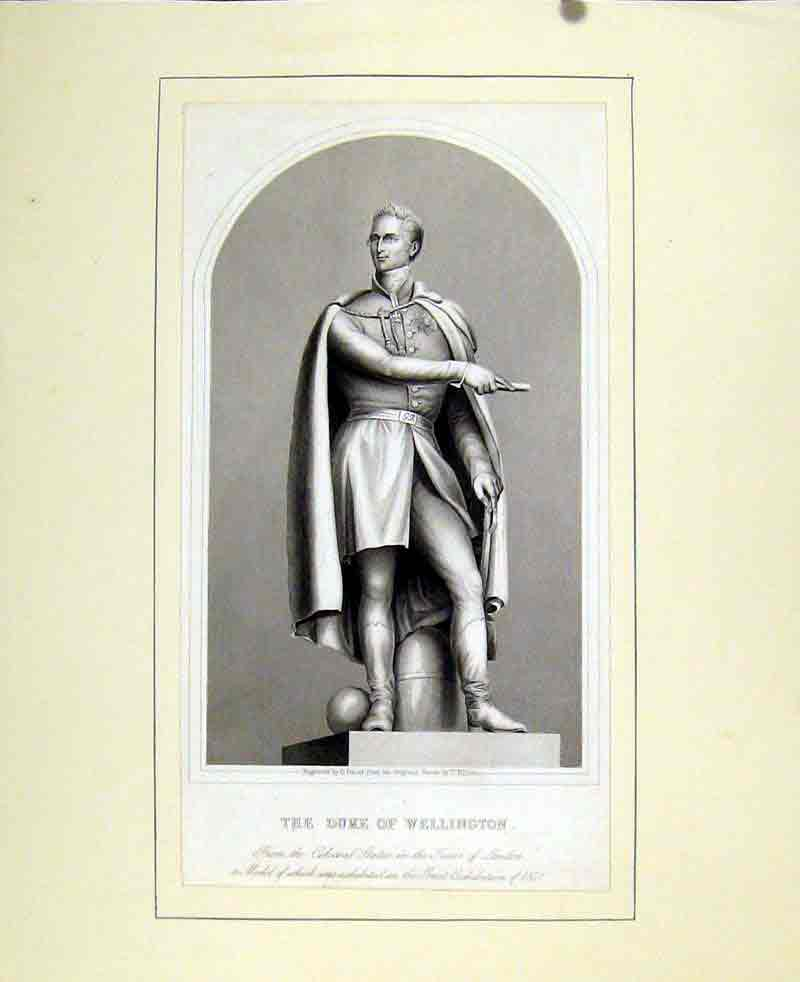 Print Duke Wellington C1830 Fine Art 657291 Old Original