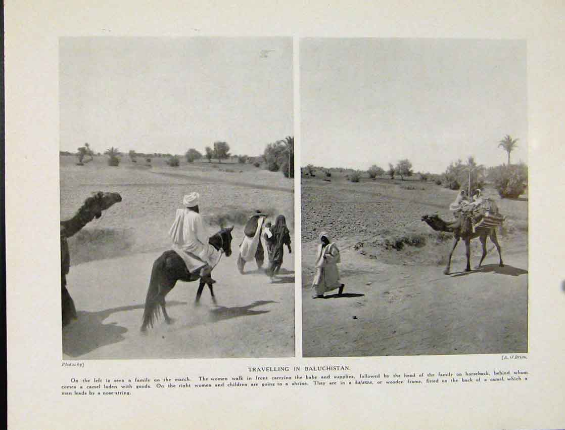 Print Traveling Bauchistan Photographs 807521 Old Original