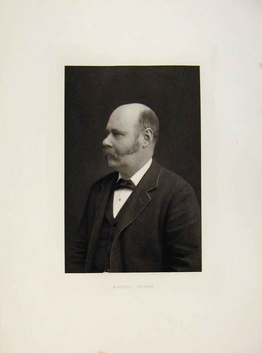 Print London Men Magnus Mowat C1898 Portrait 607641 Old Original