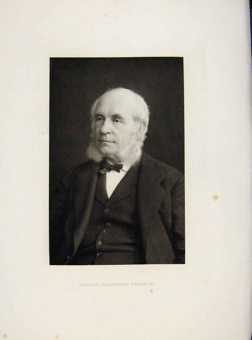 Print London Men George Wilkinson Darabble Portrait C1898 617641 Old Original