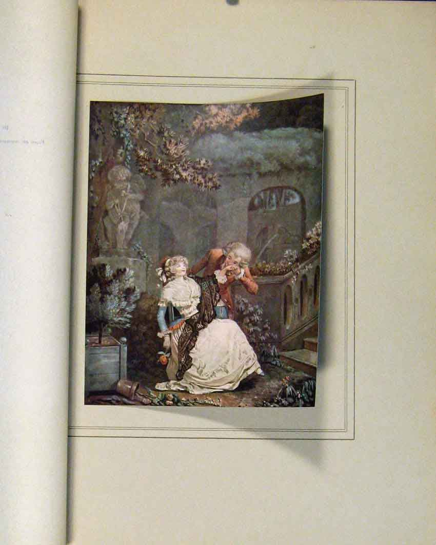 Print Limited Edition La Main Philibert Louis Debucourt 237711 Old Original