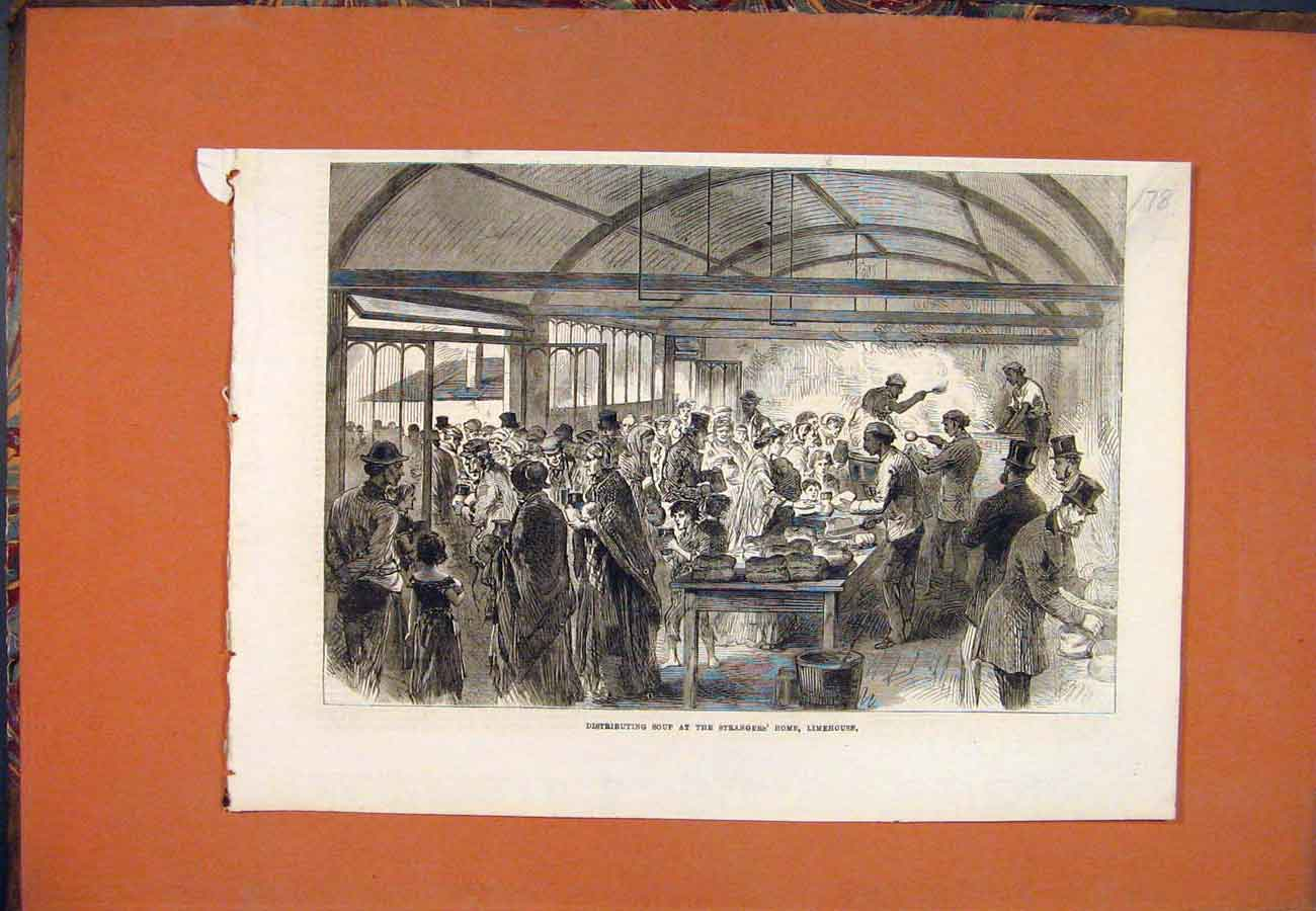 Print Strangers Home Limehouse Soup 787761 Old Original