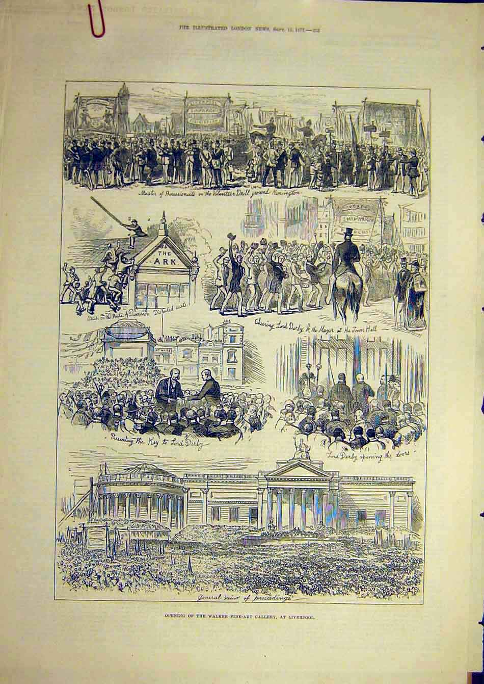 Print 1877 Walker Fine-Art Gallery Liverpool Ceremony 04A7951 Old Original