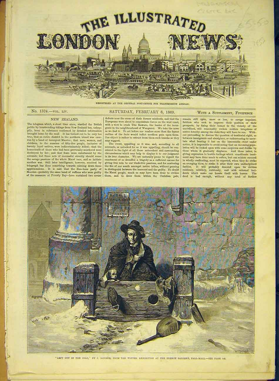 Print 1869 Stocks CRitchie Fine Art French Gallery 667991 Old Original