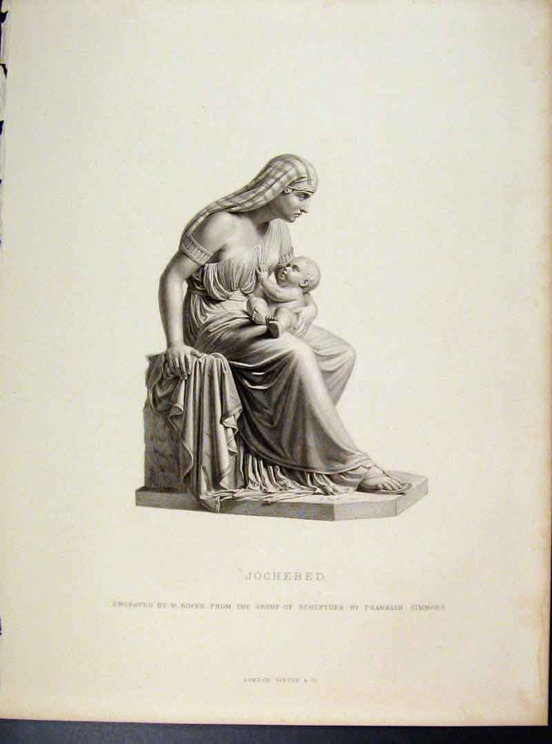 Print Jocheded Engraved By Roffe C1873 Fine Art 318101 Old Original
