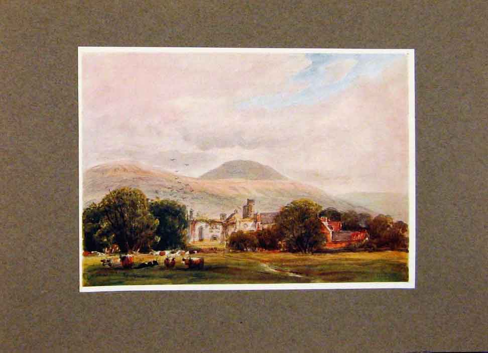 Print View Melrose By James Orrock In The Border Country 158391 Old Original