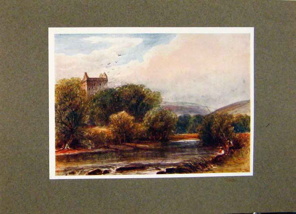 Print He Passd Where Newarks Stately Tower By James Orrock 228391 Old Original