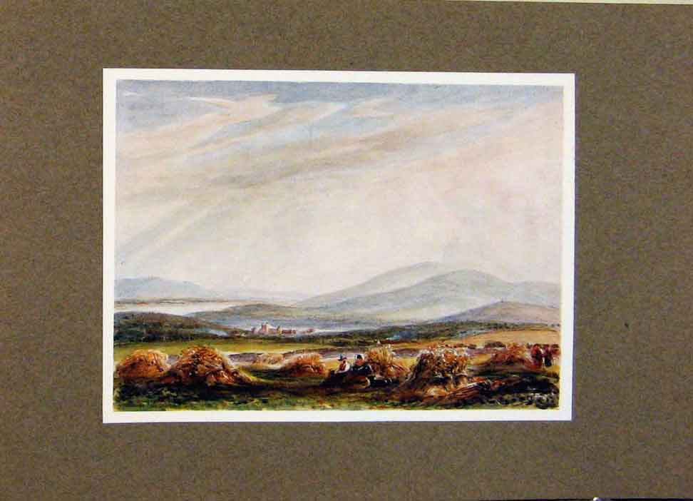 Print View New Abbey And Criffel By James Orrock 238391 Old Original