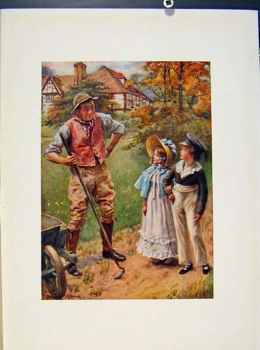 Print Mr & Mrs Harry Walmers And Cobbs By Harcopping 048421 Old Original