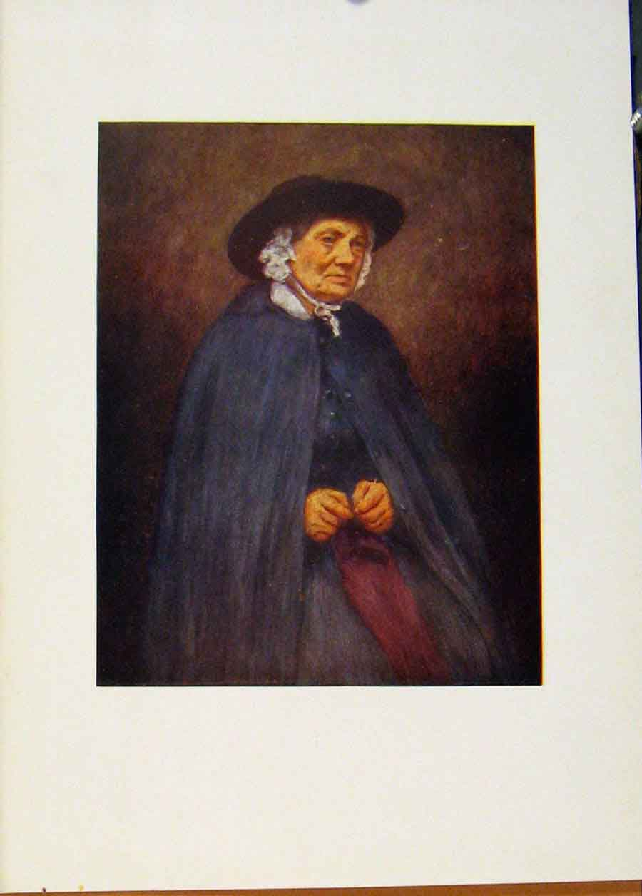 Print C1902 Welsh Woman England World Pictures 048451 Old Original