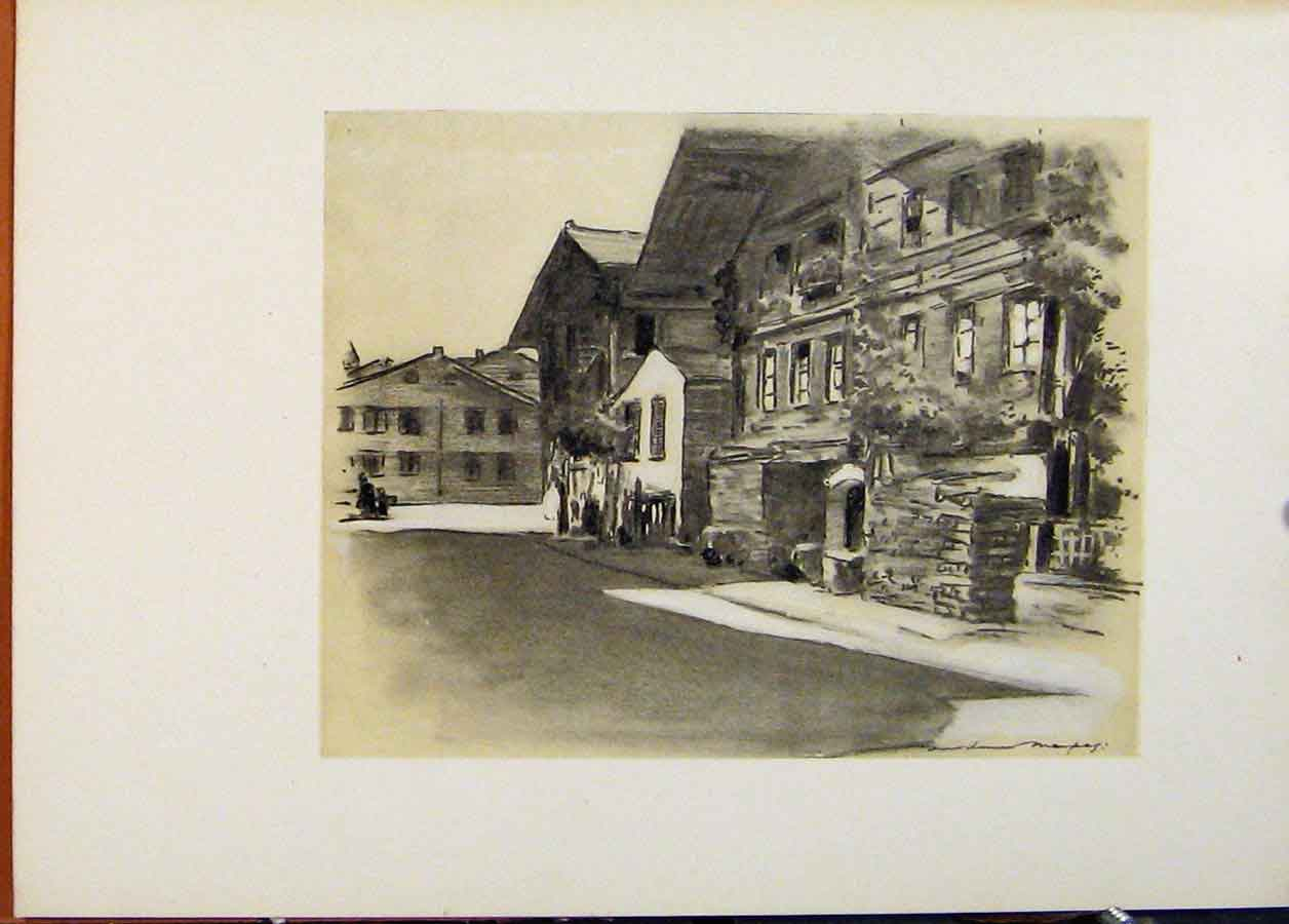 Print Interlaken C1902 World Pictures Fine Art 618451 Old Original
