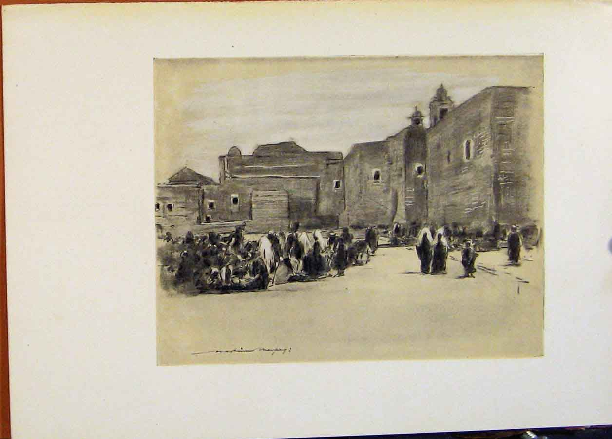 Print C1902 Bethlehem World Pictures Fine Art 788451 Old Original