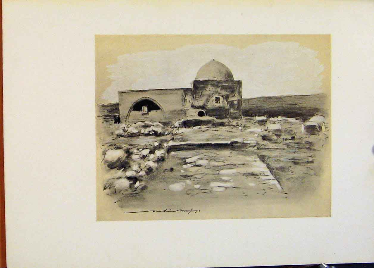 Print World Pictures C1902 Delhi India Fine Art 868451 Old Original