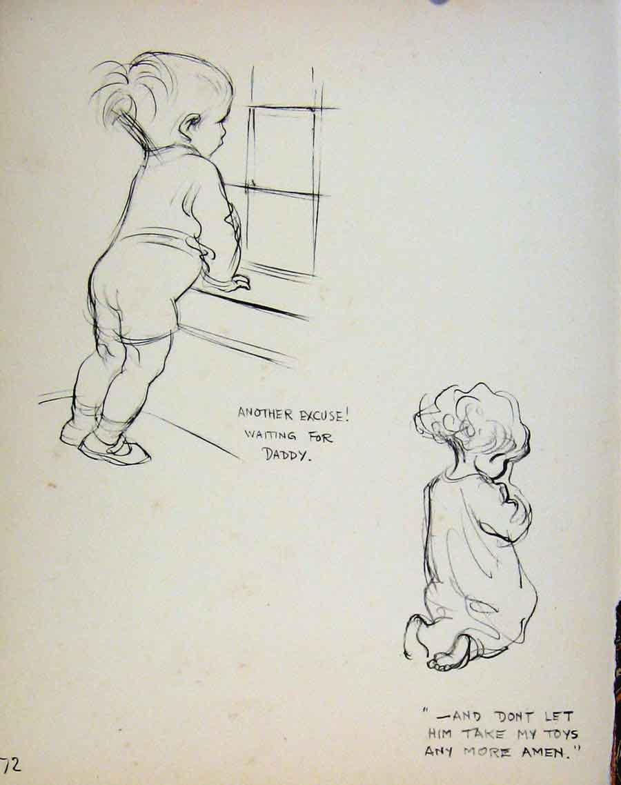 Print Important People By Dowd Seaside And Waiting Children 719621 Old Original