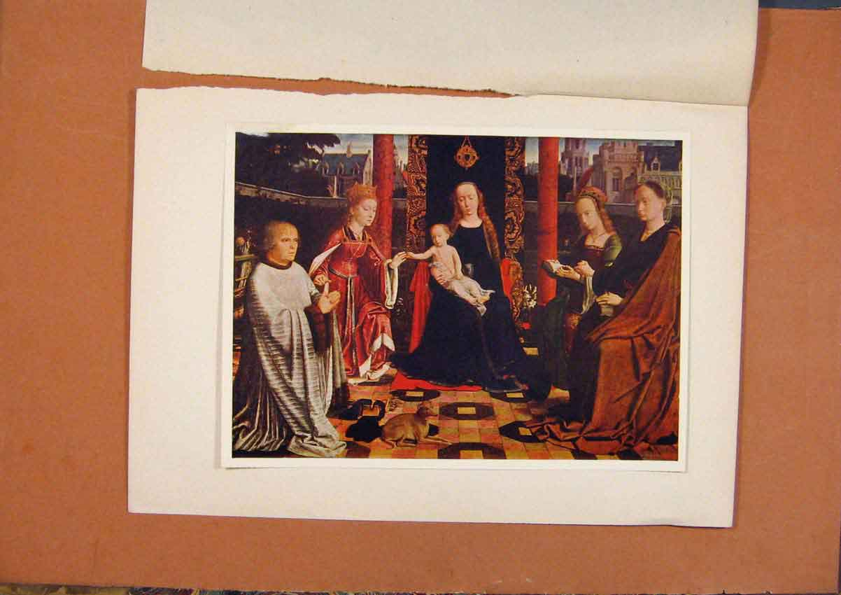 [Old Antique Print The Connoisseur Mystic Marriage St Catherine 968981 ]