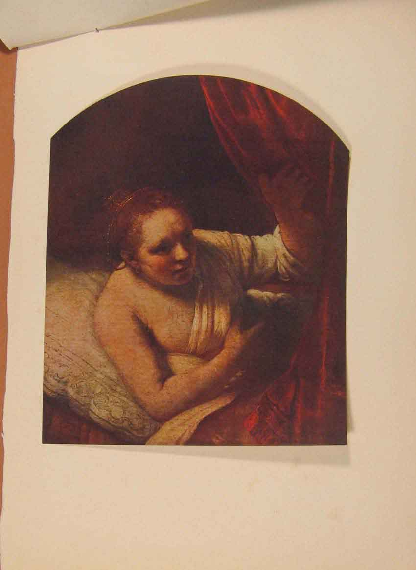 [Print English Arthendrikje Stoffels By Rembrandt C1915 079321 Old Original]