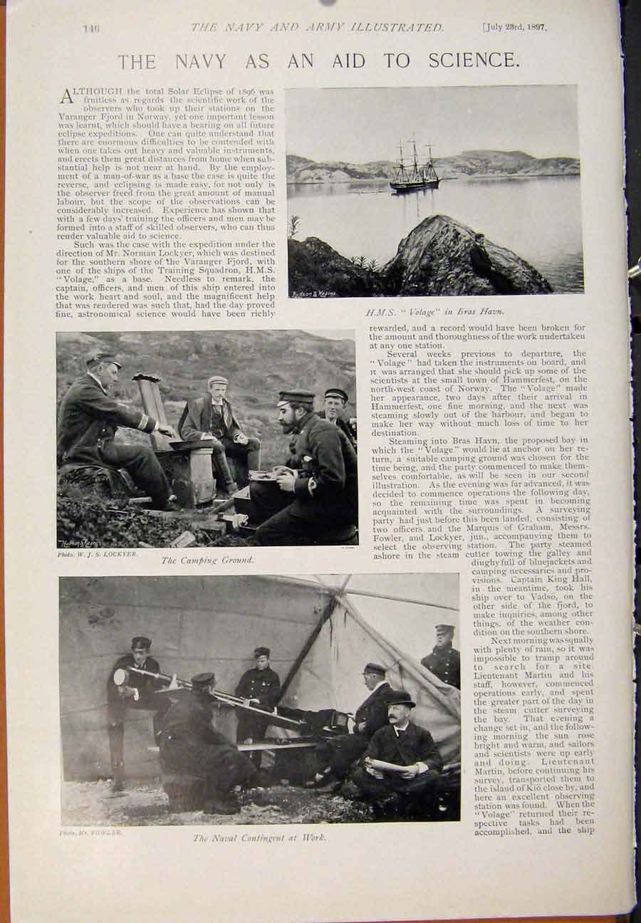 [Print Navy & Army Work Men Wars Me Ashore Navy Aid 459391 Old Original]