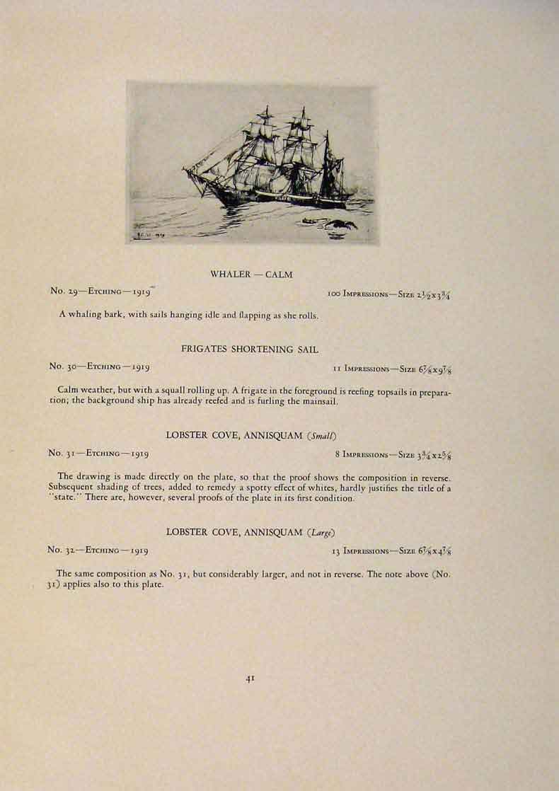 Print American Ships Cutting In Dutchman Office Removal 089431 Old Original