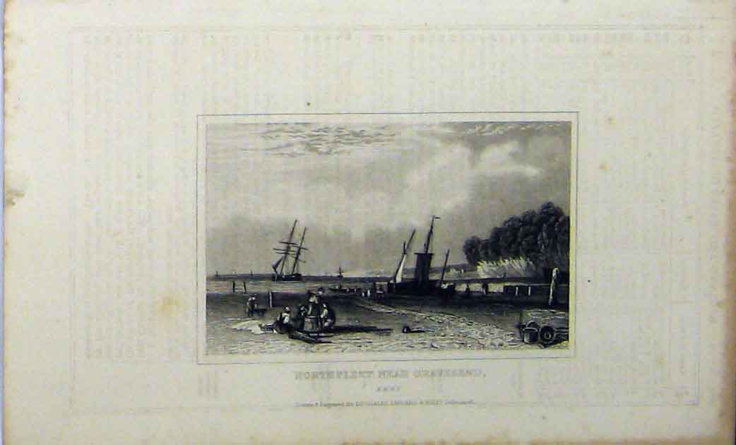 Print View Newstead Abbey C1848 Nottinghamshire Lord Byron 248A114 Old Original