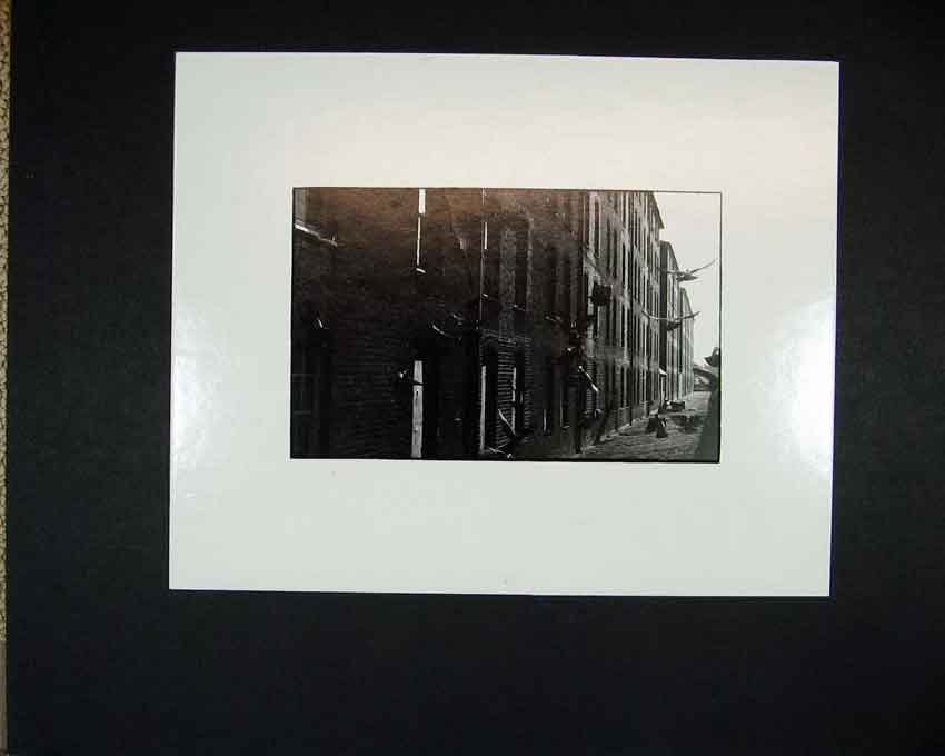 Print 1970 Photographic Houses Birds Doves Andrew Ward 109C201 Old Original