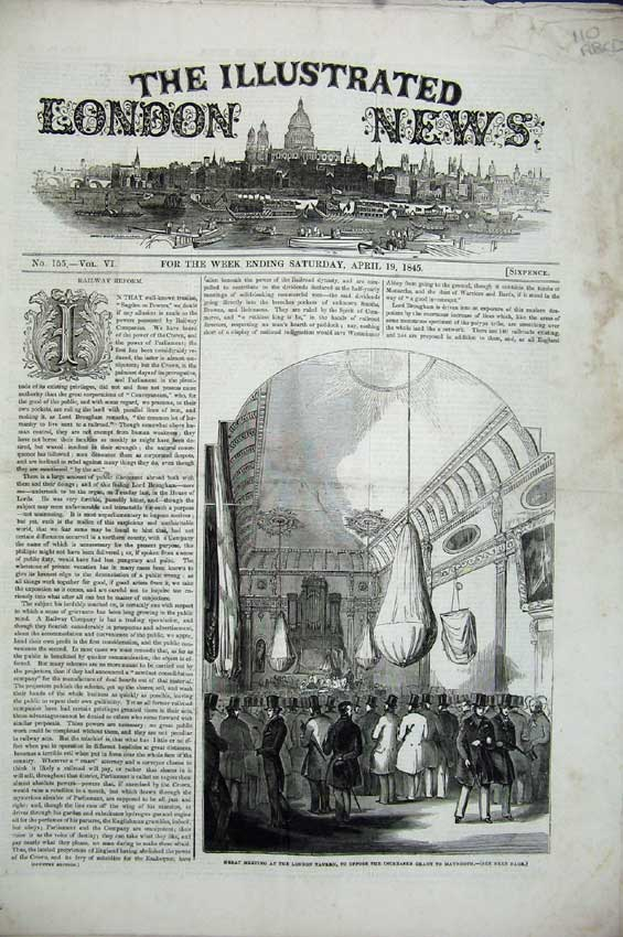 Print President Polk 1845 Coleridge Bridge Elre Theatre Rosse 110C224 Old Original