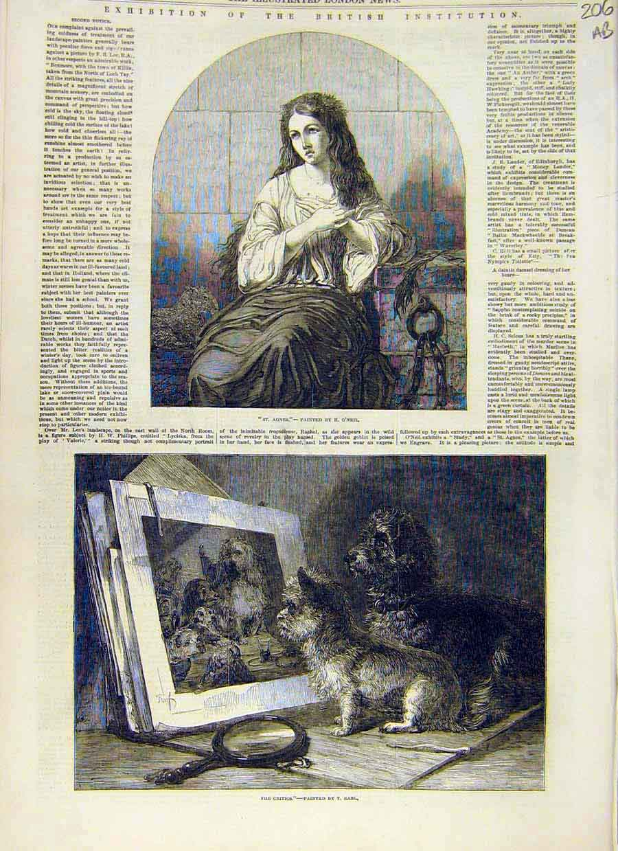 Print Fine Art 1853 Paintings O'Neil Earl Zeitter Ivons 06Accc0 Old Original