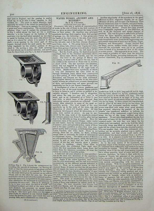 Print 1876 Engineering Agricultural Implements Machinery 500D402 Old Original