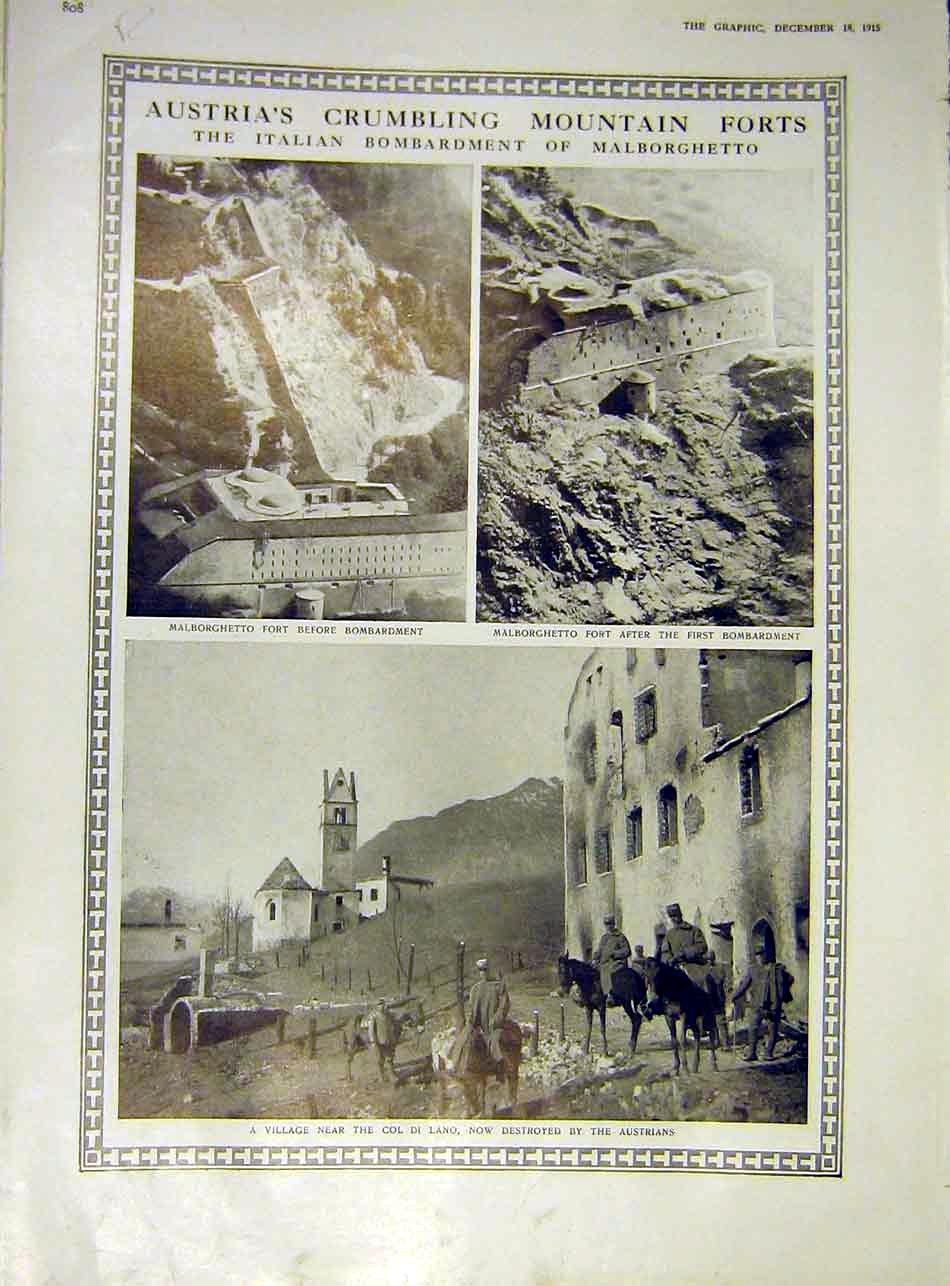 Print Alborghetto Austria Belgian Military Band Hospital 1915 08Rddd1 Old Original