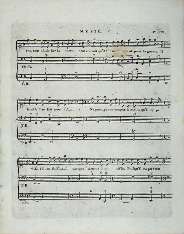 Print Encyclopaedia Britannica Sheet Music Notes Lyrics 198E104 Old Original