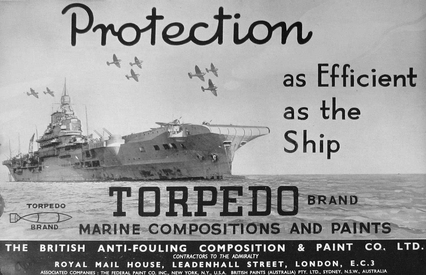 Print 1936-54 Ships Torpedo Marine Compositions Paints 840E197 Old Original