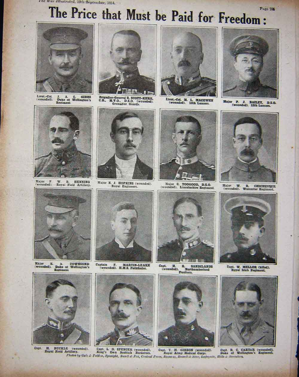 [Print 1914 Ww1 Wounded Soldiers Hospital Ship Manchester Men 238Re260 Old Original]