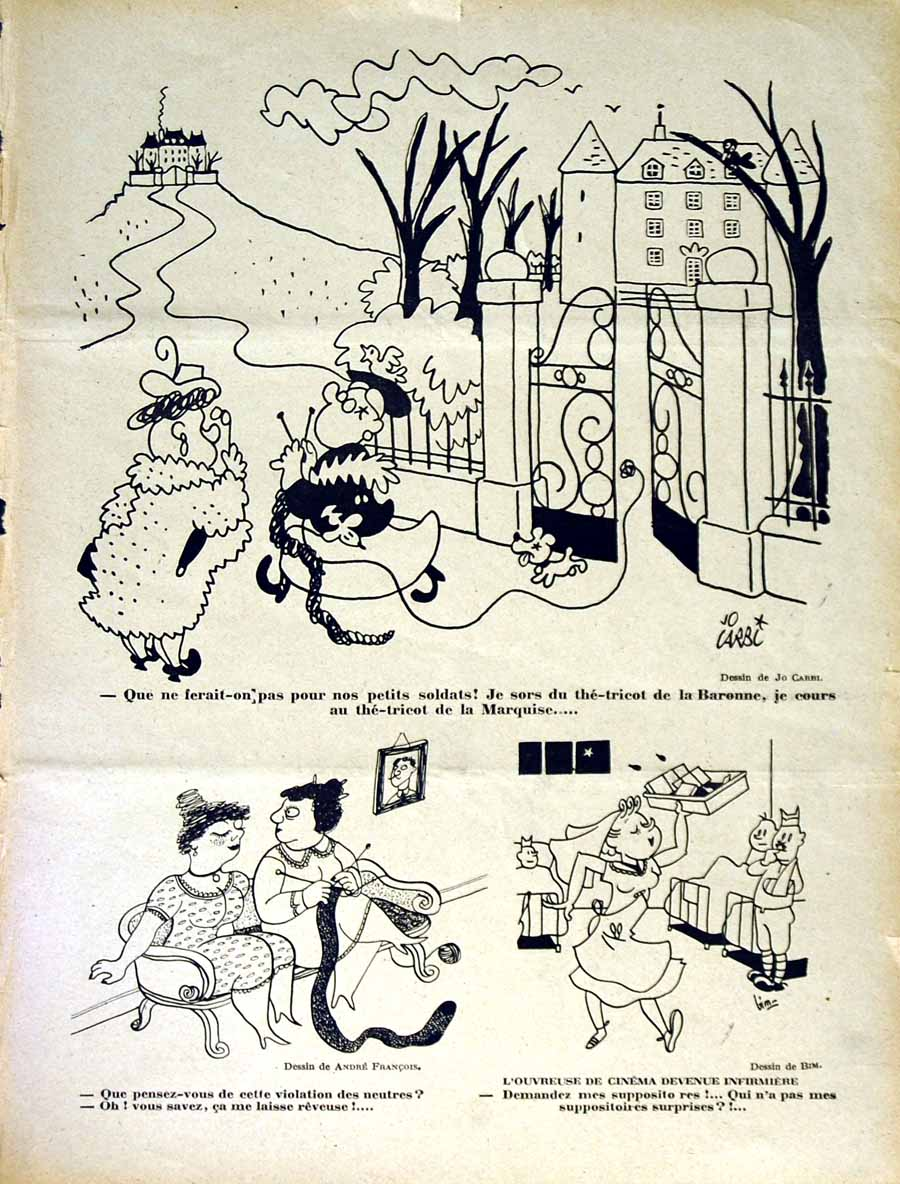 [Print Rire (The Laugh) French Humor Magazine Hospital Nurses 101Re351 Old Original]