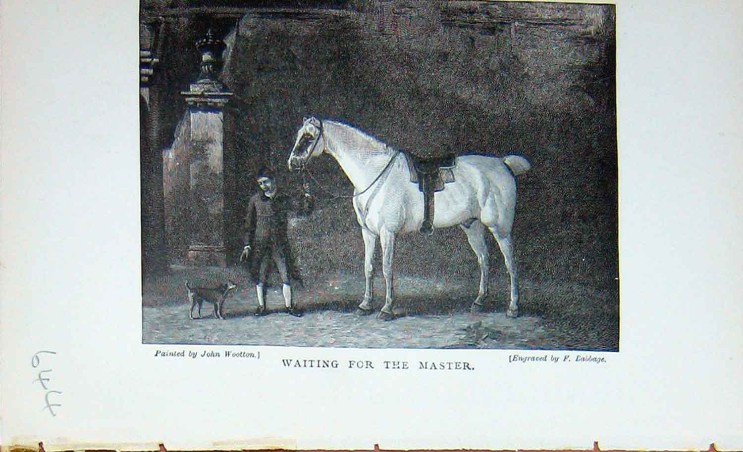 [Print Baily'S Magazine 1895 Hunting Horse Stable Sport Dog 644F110 Old Original]