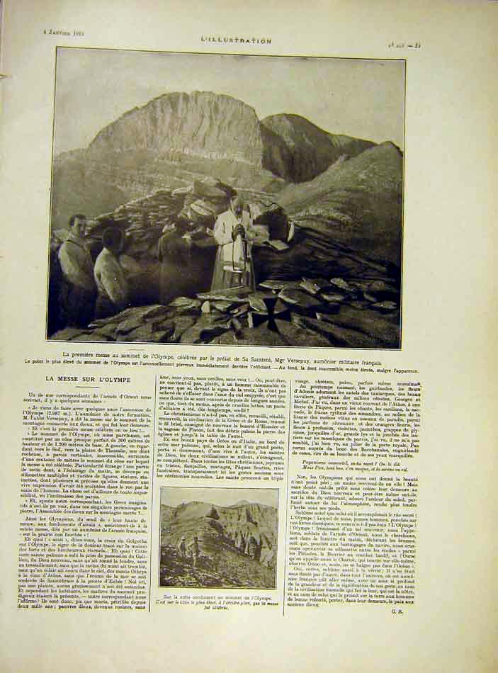 Print Olympia Versepuy Orient French 1919 25Lil0 Old Original