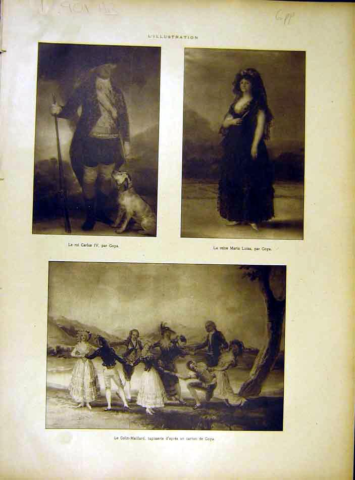 Print Fine Art Paintings Goya Bastida Sottomayor 1919 01Alil0 Old Original