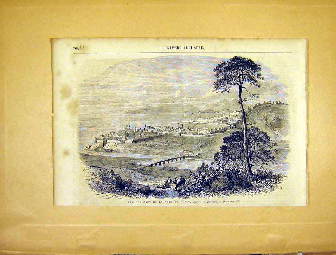 Print View River Rade Genes French 1865 64Ulun1 Old Original
